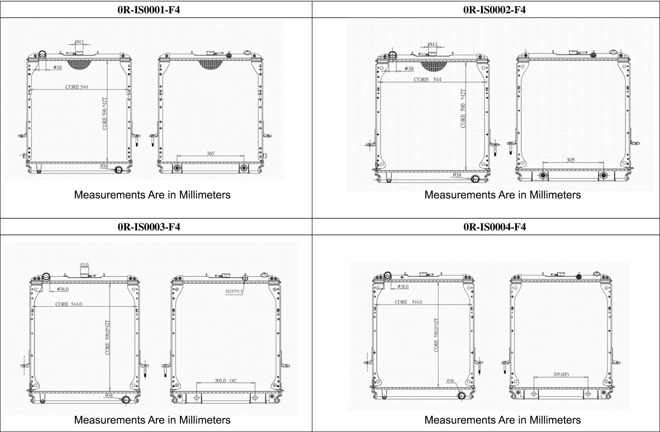 featured1 large isuzu npr, nqr & gmc w series radiator deals on radiators at