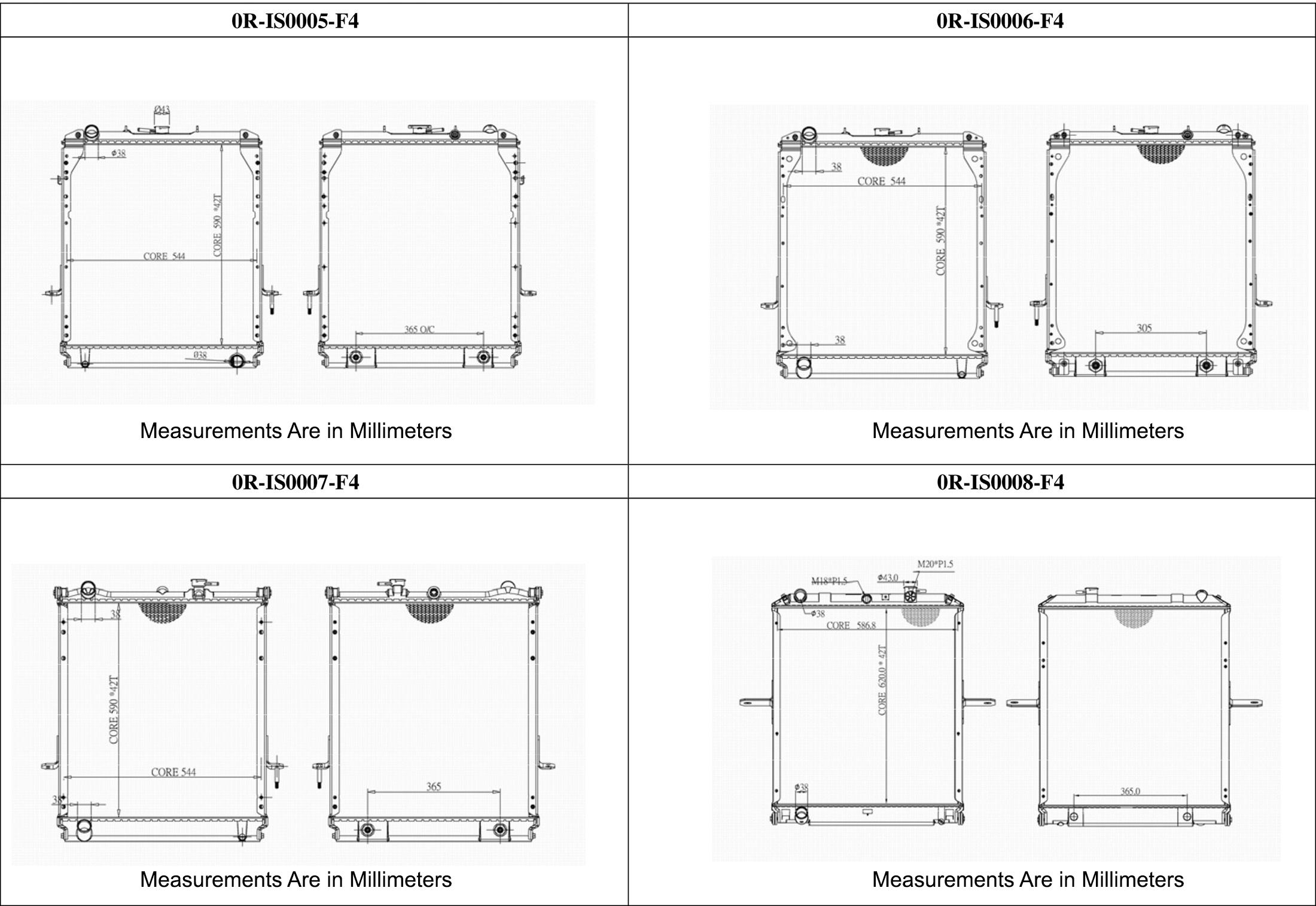 featured2 large isuzu npr, nqr & gmc w series radiator deals on radiators at
